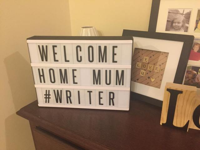 welcome home mum