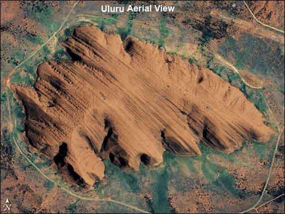 uluru-aerial-view